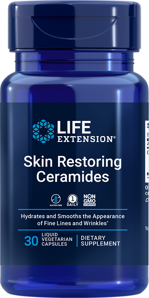 Skin Restoring Ceramides - Hydrates & smooths the appearance of fine lines and wrinkles