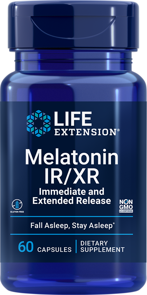 Melatonin IR/XR - All-night support for sustained, restful sleep