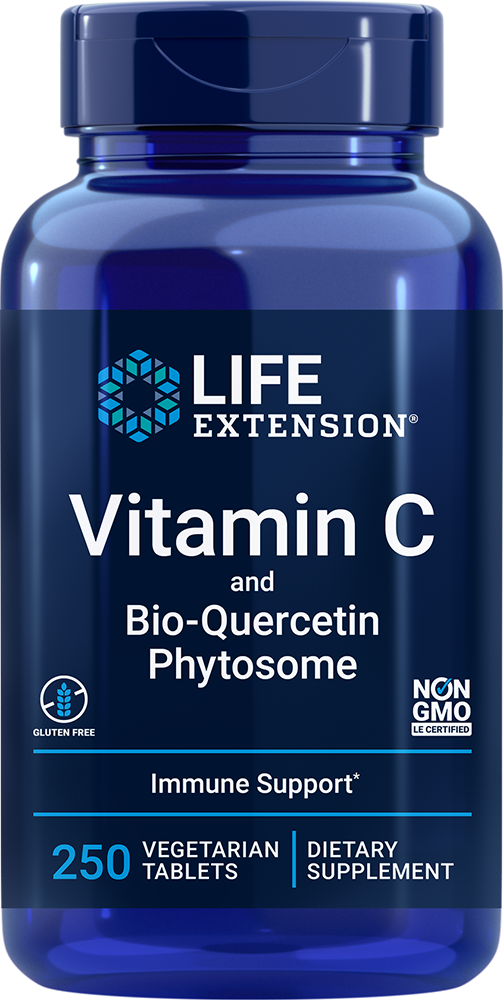 Vitamin C and Bio-Quercetin Phytosome - Vitamin C plus ultra-absorbable quercetin for immune support