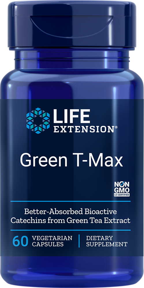 Green T-Max - Delivers 8 health-promoting green tea compounds
