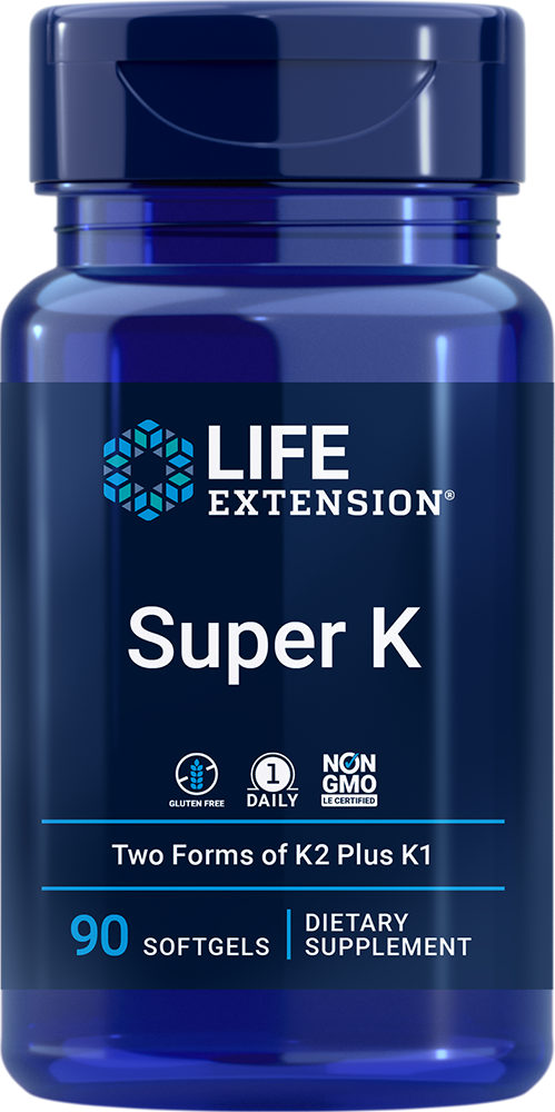 Super K - Vitamin K supplement with K1 and two forms of K2