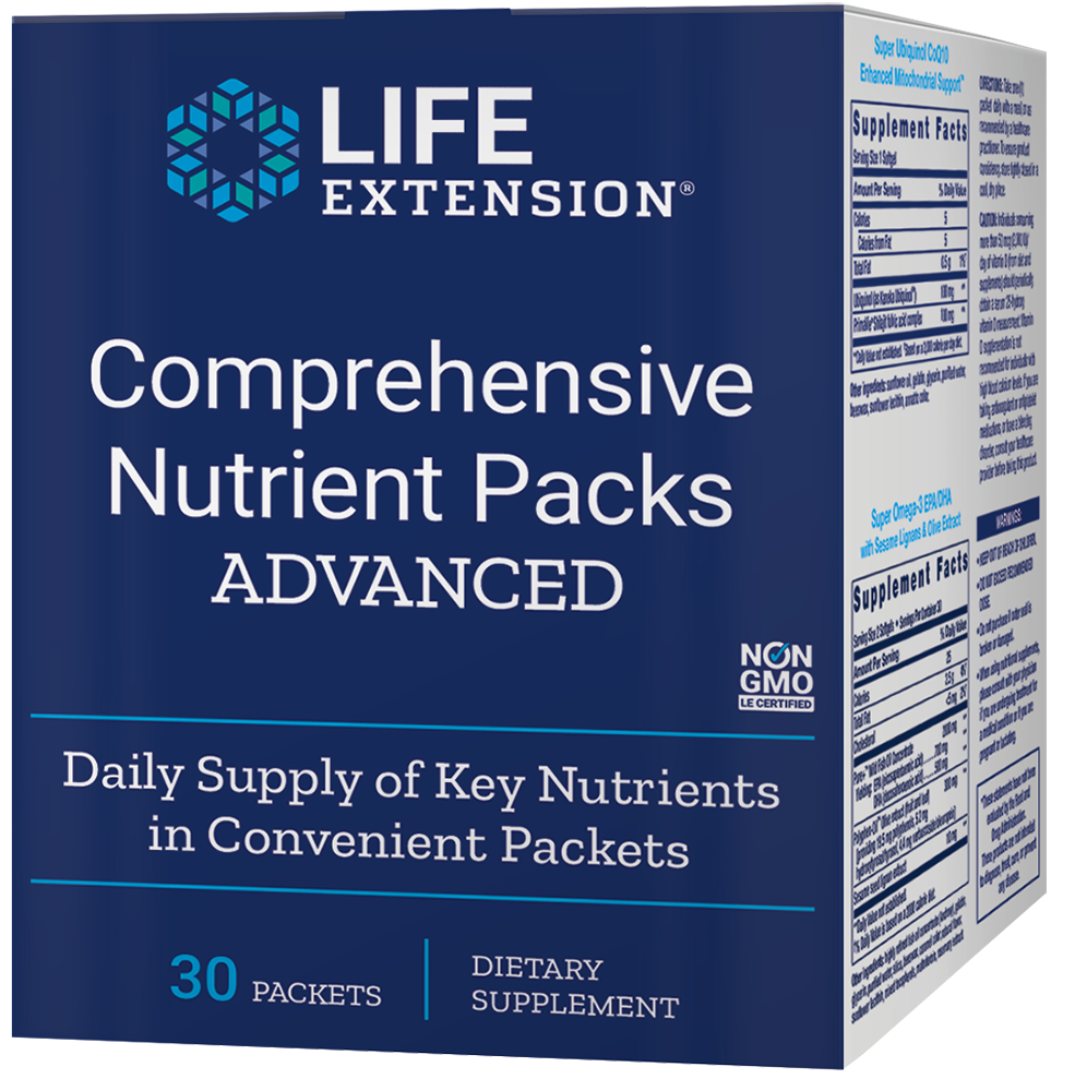 Comprehensive Nutrient Packs ADVANCED - Daily supply of key nutrients in convenient packets