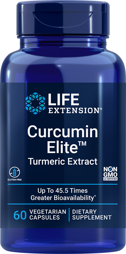 Curcumin Elite™ Turmeric Extract - This proprietary curcumin formula is the best we've ever offered