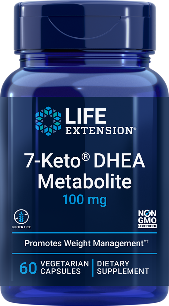 7-Keto® DHEA Metabolite - Crank up your fat-burning furnace*