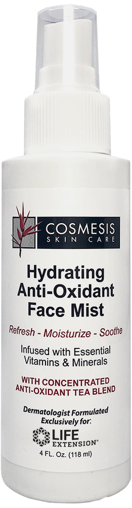 Anti-Oxidant Facial Mist Hydrator - Hydrates and moisturizes dry skin