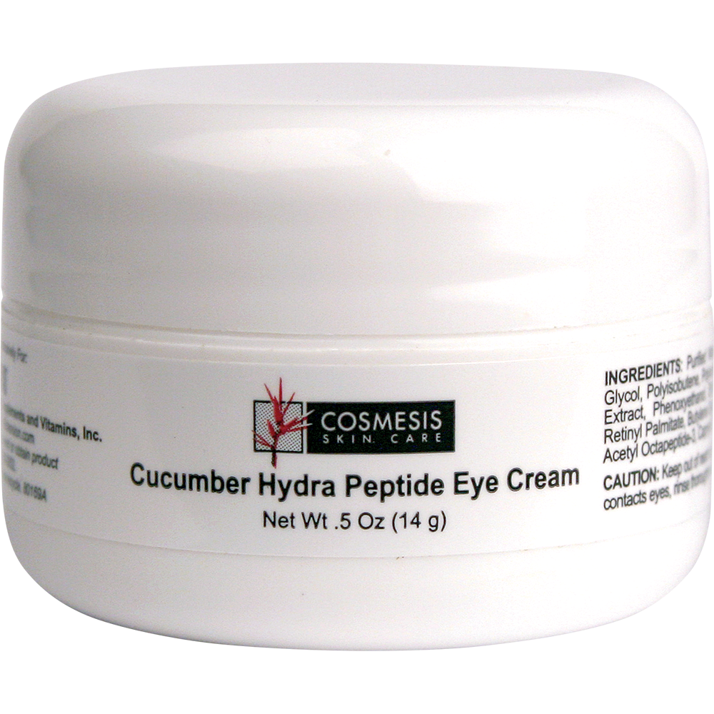 Cucumber Hydra Peptide Eye Cream - Nourish and protect the delicate skin around your eyes